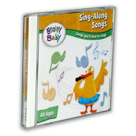 Brainy Baby Sing-Along Songs CD (Baby Halloween Songs)