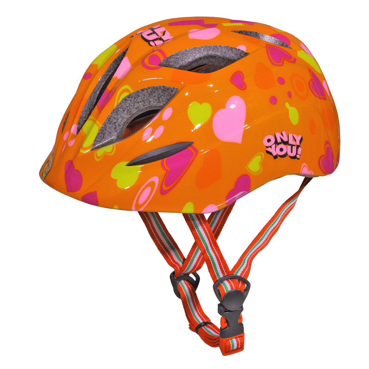 CoastaCloud Kids Cycling Helmet with Adjustable Headband for a Safer Fit, an Ideal First Helmet