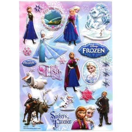 Disney Frozen Sisters Forever Sticker Sheet (Frozen Stickers)