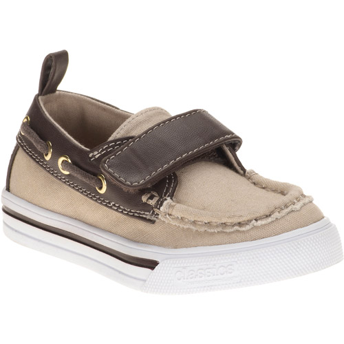 Classics by Buster Brown Toddler Boys' Tan Boat Shoes