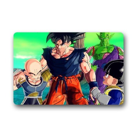 Deyou dragon ball z doormat outdoor indoor floor mats non for Dragon ball z bathroom
