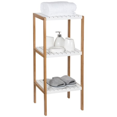 Utility Shelves Walmart Delectable Ollieroo Bamboo Utility Shelves Bathroom Rack Plant Display Stand