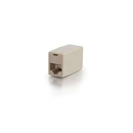 C2G Cables To Go RJ45 Coupler Straight F/F (Go Fiber Coupler)