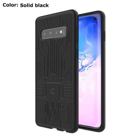 Black Cruzerlite Bugdroid Circuit TPU case for the Galaxy (Cruzerlite Bugdroid Circuit Case For Lg Nexus 5)