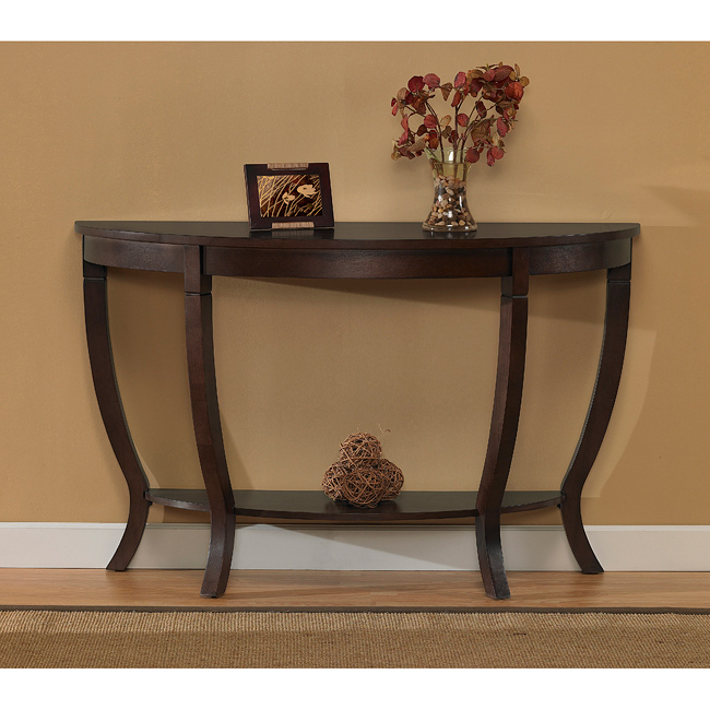 I Love Living Lewis Wood Sofa Table by Overstock