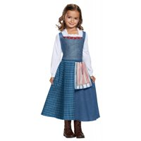 Belle Village Dress Child Costume - X-Small
