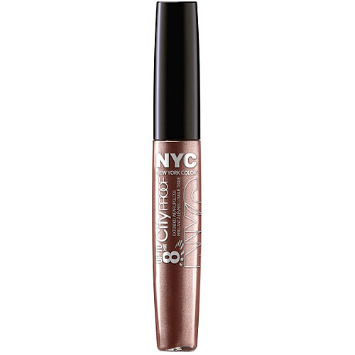 New York Color Up to 8HR City Proof Lip Gloss, Coffee Break