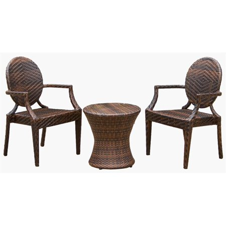 3 Pc Outdoor Chat Set