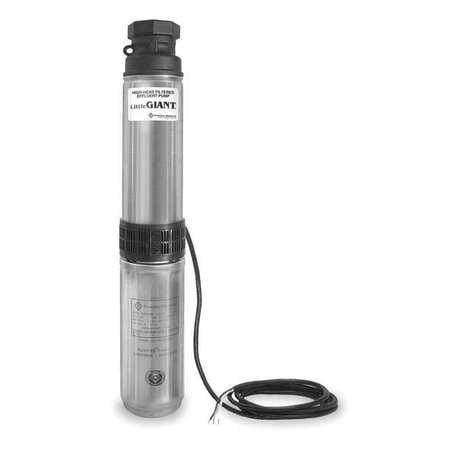 LITTLE GIANT WE30G05P4-21 High Head Effluent Pump,1/2hp,115ft. Max High Head Pump