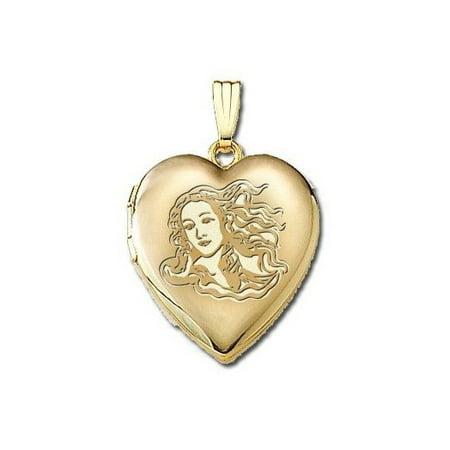 Solid 14K Yellow Gold Venus or Aphrodite