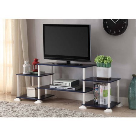 Mainstays 40 Inches Contemporary Plasma Lcd Tv Stand Entertainment