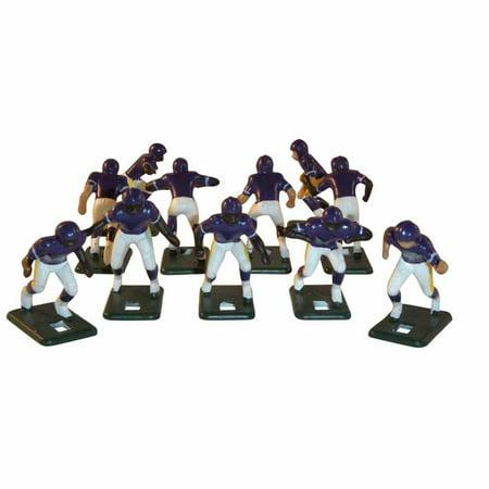 Electric Football 67 Big Men Players 11 in Dark Blue Light Blue Home Uniform