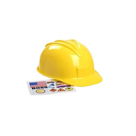Jr. Construction Helmet (Hard Hat Stickers Construction)