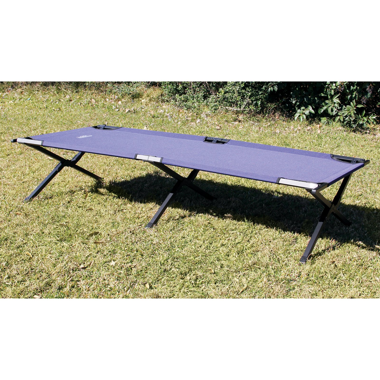 Tex Sport Cot Large, Folding, Steel
