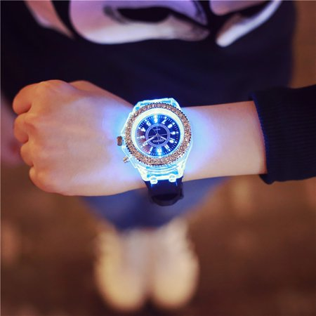 Tuscom Geneva LED Backlight Sport Waterproof Quartz Wrist