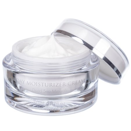Vivo Per Lei Hydrating Day Cream Moisturizer with Dead Sea Minerals and Shea Butter, 50 ml/1.7 fl.oz ()