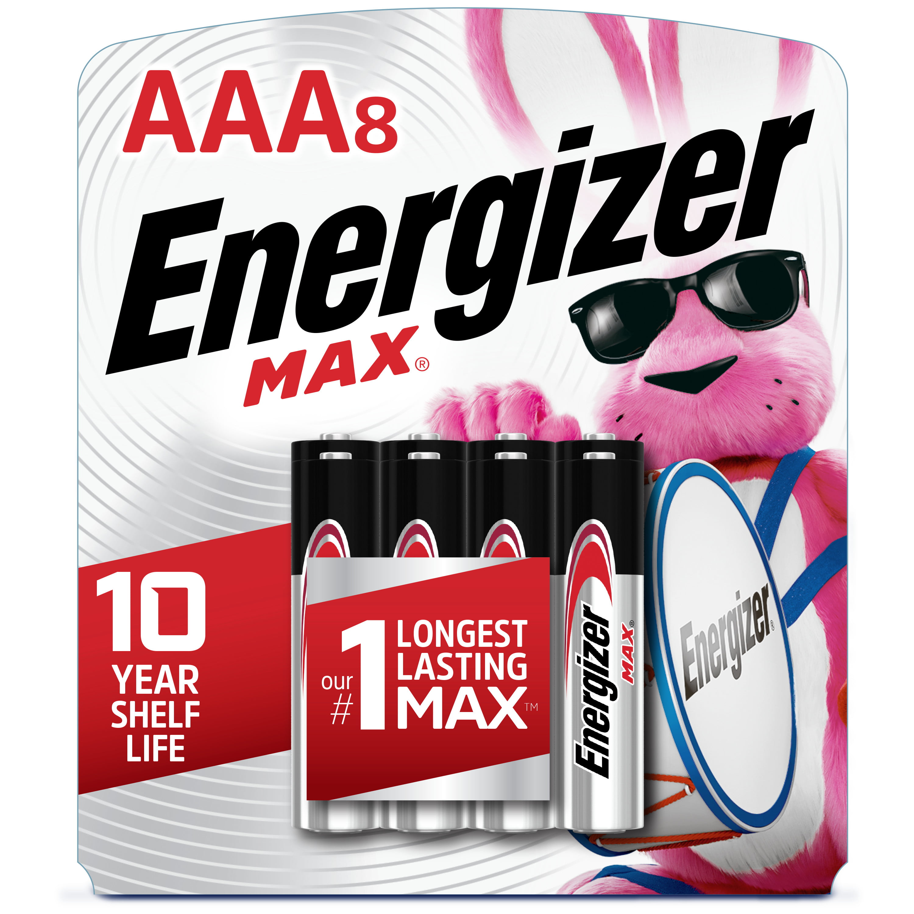 Energizer MAX AAA Batteries (8 Pack
