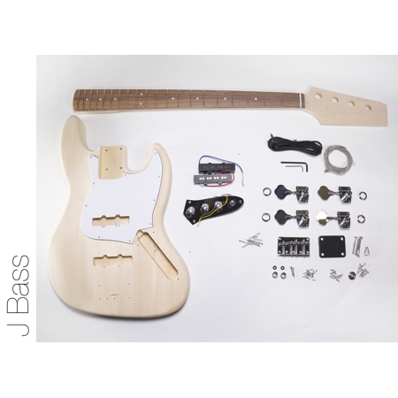 diy electric bass guitar kit - j bass build your