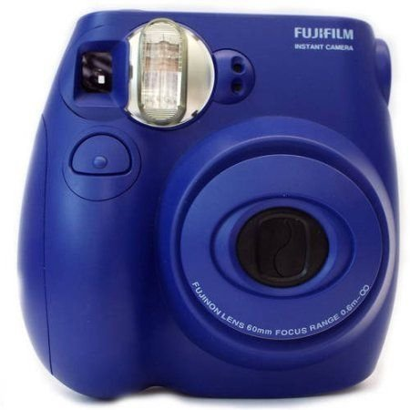 Fujifilm Instax Mini 7S Blue Instant Camera (includes Fujifilm 10 ...