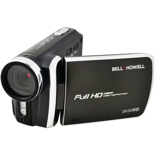 Bell+Howell Black Dv30hd 1080p Fun-Flix Slim Camcorder by Bell and Howell