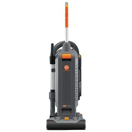 Hoover Commercial Hushtone Vacuum Cleaner With Intellibelt  13   Orange Gray