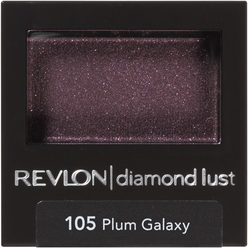 Revlon Luxurious Color Diamond Lust Eye Shadow, 105 Plum Galaxy, 0.028 oz