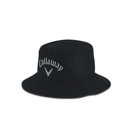 349d71a6e49 Callaway Aqua Dry Bucket Hat (Black) Golf NEW - Walmart.com