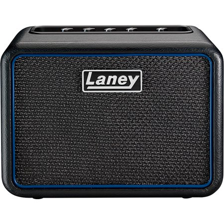 Laney MINI-BASS-NX 9W 2x3 Bass Combo Amp Black and Blue