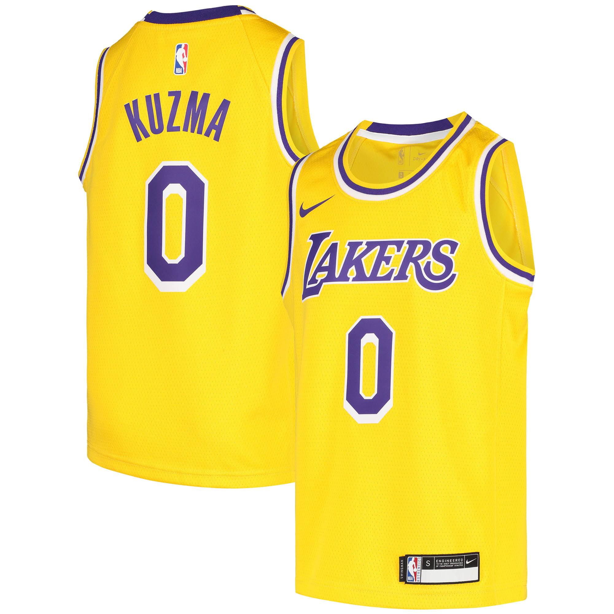 Kyle Kuzma Los Angeles Lakers Nike Youth 2020/21 Swingman Jersey - Icon Edition - Gold