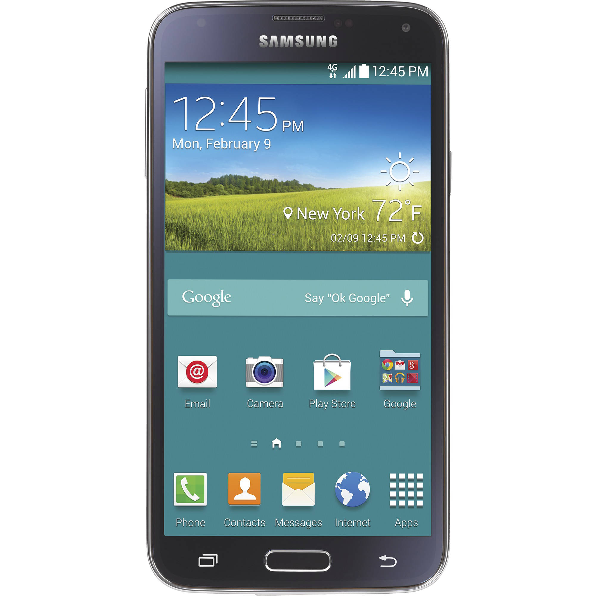 Total Wireless Samsung Galaxy S5 4G LTE Prepaid Smartphone