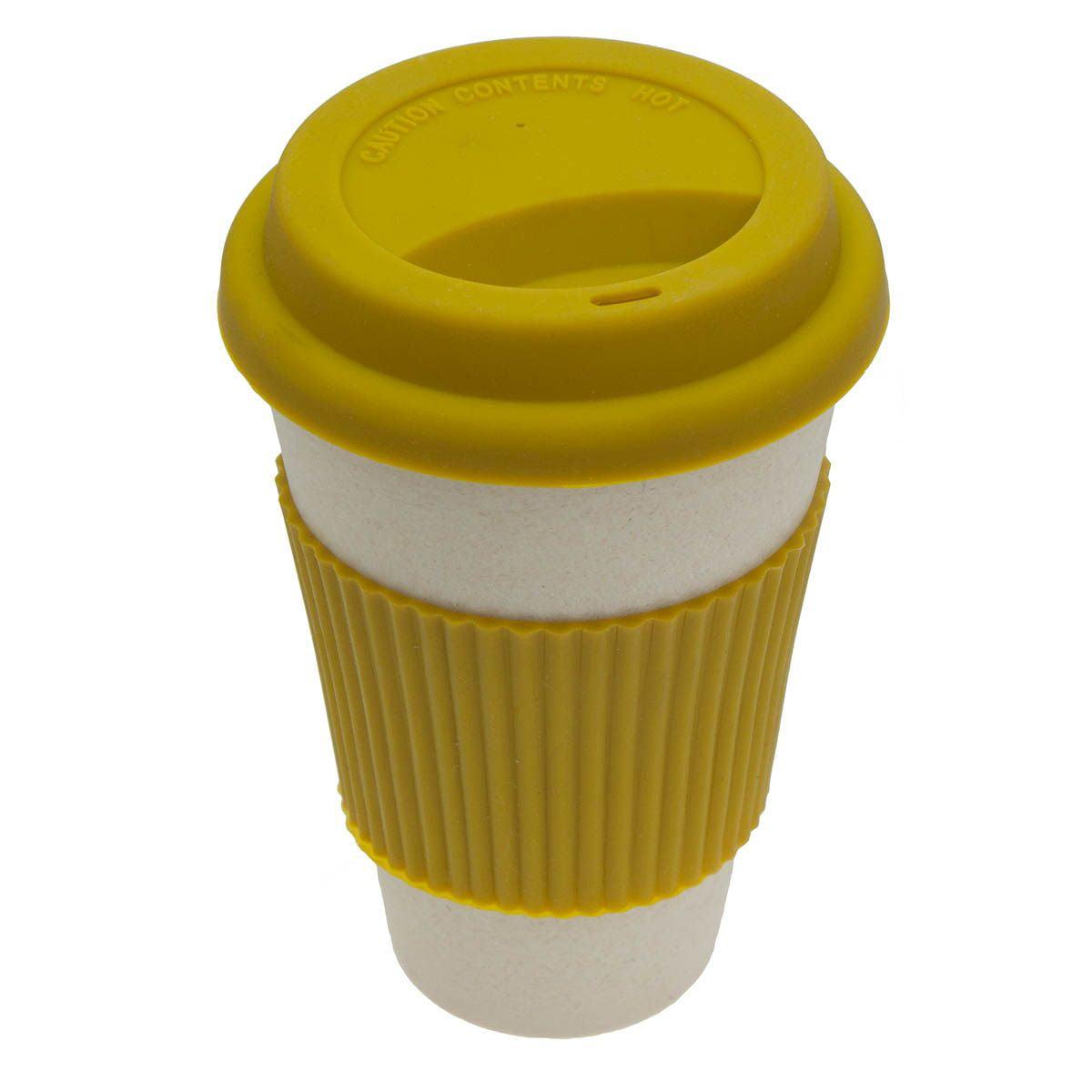 Bamboo Biodegradable Travel Mug Tumbler Eco-friendly ReNewable Reusable 14oz by Texsport