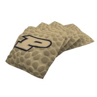 Purdue Boilermakers 4-Pack Pigskin Alternate Cornhole Bean Bags Set - No Size