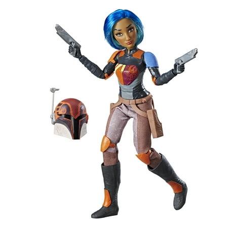 Star Wars Forces of Destiny Sabine Wren Adventure Figure (Sabine Wren Action Figure)
