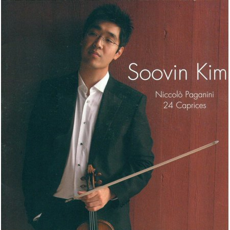 24 Caprices By Soovin Kim Artist Niccolo Paganini Composer Format Audio CD Ship from US