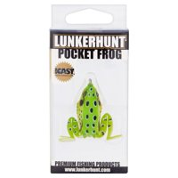 Lunkerhunt Premium Fishing Products Pocket Frog