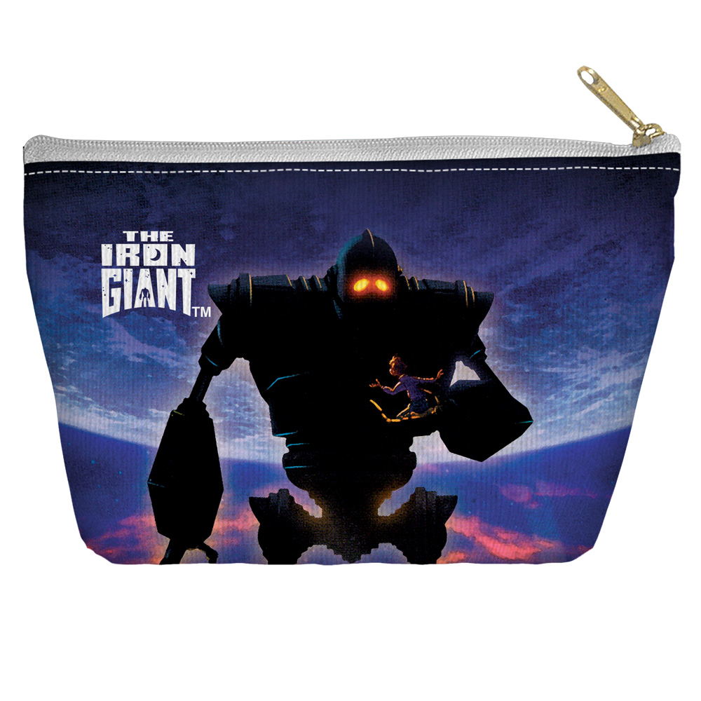 Iron Giant Poster Accessory Pouch White 8.5X6