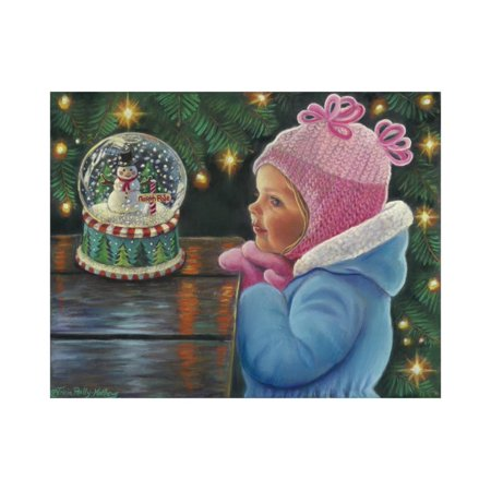Christmas Through Your Eyes Print Wall Art By Tricia Reilly-Matthews ()