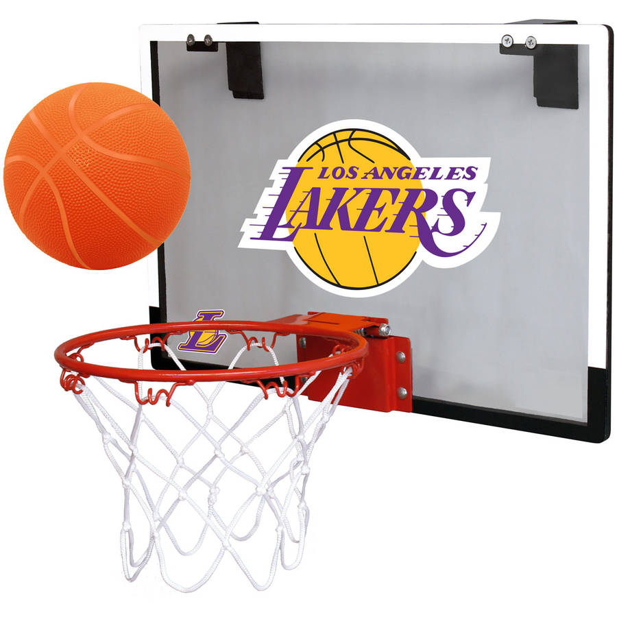 Rawlings NBA Game On Polycarb Hoop Set Los Angeles Lakers