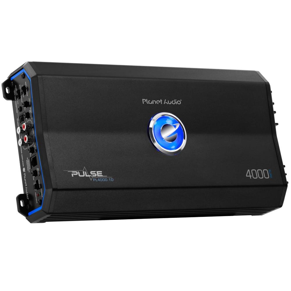 Planet Audio PL4000.1D Pulse 4000W Monoblock Class D Amplifier