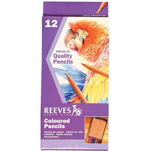 Reeves Colored Pencil, 3.8mm Tip, 7