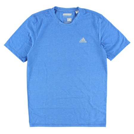 Adidas Mens Aeroknit Climacool T Shirt Blue S