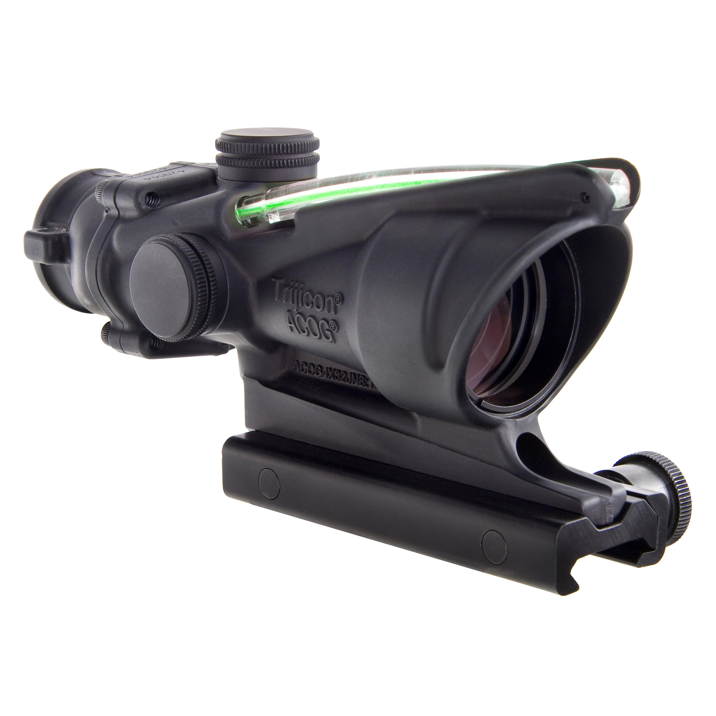 Trijicon ACOG 4x32mm Dual Illuminated Scope Green Crosshair .223 Ballistic Reticle with TA51 Mount, Black by Trijicon