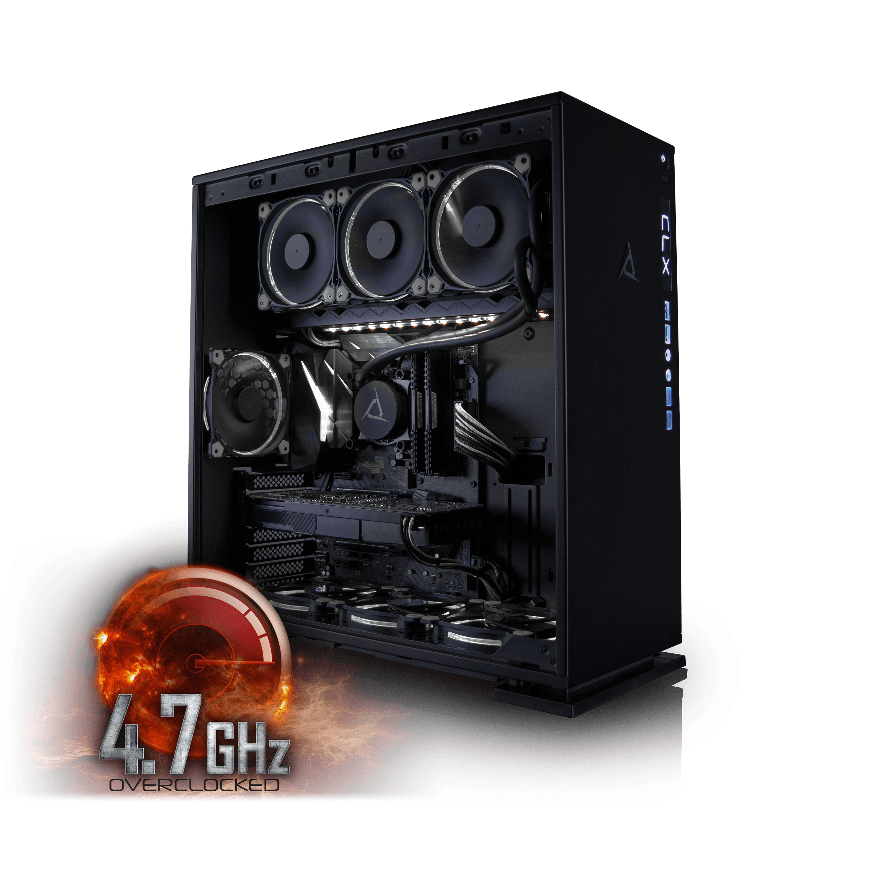 Click here to buy CybertronPC CLX Set High Performance Gaming PC Tripple-Liquid Cooled Z270 Asus Motherboard Intel i7 7700K 4.7GHz(OC)... by CybertronPC.