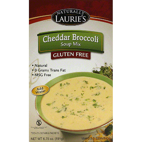 Laurie's Kitchen Cheddar Broccoli Soup Mix, 6.75 oz, (Pack of 6)