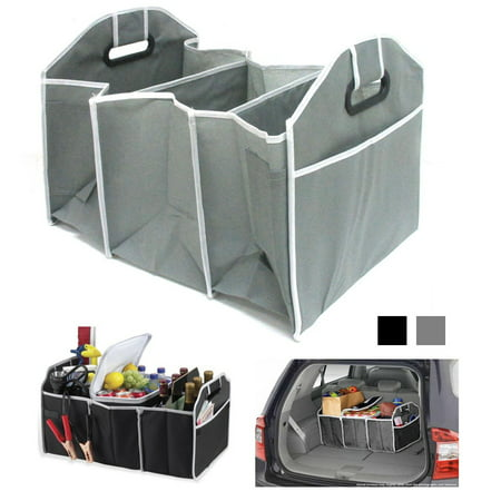 Collapsible Folding Trunk Organizer Caddy Car Auto Truck Storage Bin Bag New !