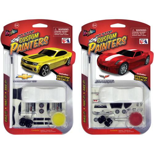 Krazy Kars Custom Painter, Camaro and Corvette, 2-Pack