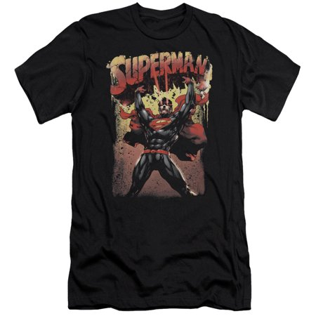 Superman Lift Up Mens Slim Fit Shirt