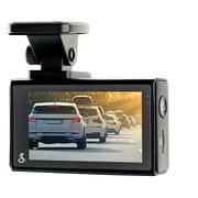 Cobra SC 200D Dual-View Smart Dash Cam with Rear-View Accessory Camera
