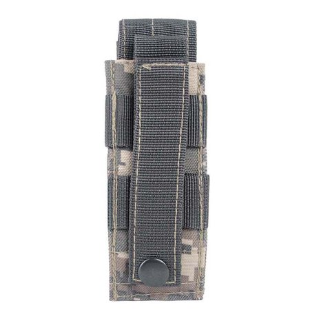 JIMSHOP Tactical Outdoor Open Top Single Mag Bag Magazine Belt Clip Holster Pouch Bag ()