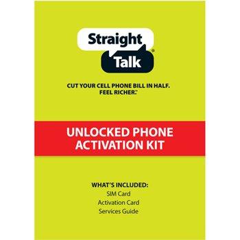 Straight Talk AT&T SIM Activation Kit